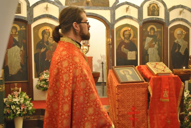 Отец Роман Кунен, настоятель православной миссии
