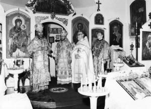 Престольный праздник храма, октябрь 1978 года