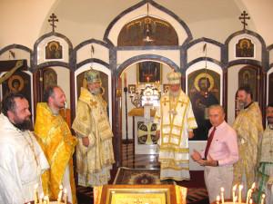 19 февраля 2006 года совершен чин Великого освящения Храма