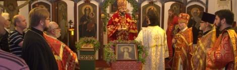 Престольный праздник храма святой мученицы Зинаиды