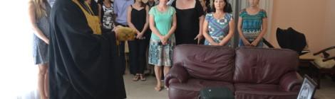 В консульстве РФ в Рио де Жанейро молились об упокоении убиенного посла