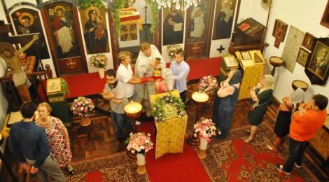 Праздник Рождества Христова в храме святой мученицы Зинаиды в Рио-де-Жанейро
