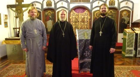 Миссия возвращается в церковь святой мученицы Зинаиды