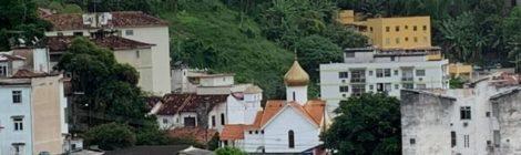 Установлено видеонаблюдение на территории храма