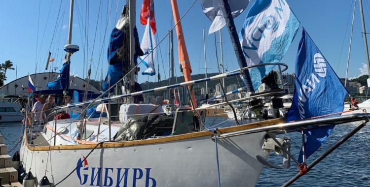 Встреча кругосветной парусной экспедиции «Сибирь – Антарктика – Сибирь»